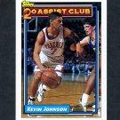 1992-93 Topps Basketball #222 Kevin Johnson 20A - Phoenix Suns