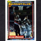 1992-93 Topps Basketball #212 Clyde Drexler 50P - Portland Trail Blazers