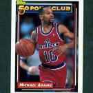 1992-93 Topps Basketball #206 Michael Adams 50P - Washington Bullets