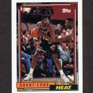 1992-93 Topps Basketball #186 Grant Long - Miami Heat