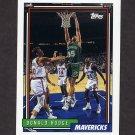 1992-93 Topps Basketball #178 Donald Hodge - Dallas Mavericks