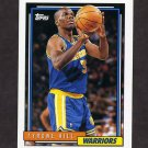 1992-93 Topps Basketball #162 Tyrone Hill - Golden State Warriors