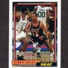 1992-93 Topps Basketball #156 Bimbo Coles - Miami Heat