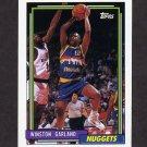 1992-93 Topps Basketball #083 Winston Garland - Denver Nuggets
