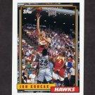 1992-93 Topps Basketball #078 Jon Koncak - Atlanta Hawks