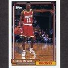 1992-93 Topps Basketball #068 Vernon Maxwell - Houston Rockets