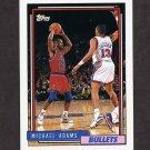 1992-93 Topps Basketball #067 Michael Adams - Washington Bullets