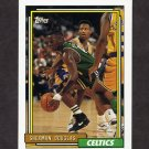 1992-93 Topps Basketball #065 Sherman Douglas - Boston Celtics