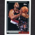 1992-93 Topps Basketball #060 Kevin Duckworth - Portland Trail Blazers