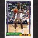 1992-93 Topps Basketball #049 David Benoit - Utah Jazz