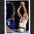 1993-94 Topps Basketball #329 Eric Anderson - New York Knicks