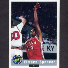 1992 Classic Basketball #57 Elmore Spencer - Los Angeles Clippers