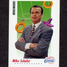 1991-92 Skybox Basketball #389 Mike Schuler CO - Los Angeles Clippers