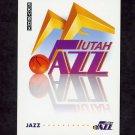 1991-92 Skybox Basketball #376 The Utah Jazz