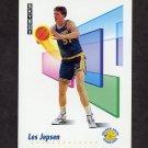 1991-92 Skybox Basketball #093 Les Jepsen - Golden State Warriors