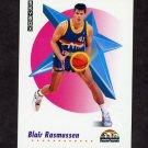 1991-92 Skybox Basketball #074 Blair Rasmussen - Denver Nuggets NM-M