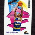 1991-92 Skybox Basketball #072 Marcus Liberty - Denver Nuggets