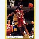 1993 Classic Basketball #103 Byron Wilson - Phoenix Suns