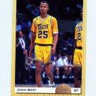 1993 Classic Basketball #013 John Best - New Jersey Nets
