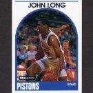 1989-90 Hoops Basketball #167 John Long - Detroit Pistons