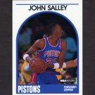 1989-90 Hoops Basketball #109 John Salley - Detroit Pistons
