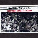1990-91 Hoops Basketball #340 NBA Final Game 4 / Detroit Pistons