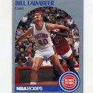1990-91 Hoops Basketball #108 Bill Laimbeer - Detroit Pistons