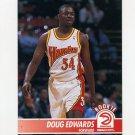 1994-95 Hoops Basketball #003 Doug Edwards - Atlanta Hawks