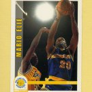 1992-93 Hoops Basketball #072 Mario Elie - Golden State Warriors