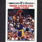 1991-92 Hoops Basketball #538 NBA Finals Game 1 / Sam Perkins - Los Angeles Lakers