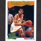 1991-92 Hoops Basketball #533 Maurice Cheeks - Atlanta Hawks
