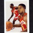 1991-92 Hoops Basketball #503 Travis Mays - Atlanta Hawks