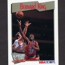 1991-92 Hoops Basketball #502 Bernard King - Washington Bullets