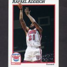 1991-92 Hoops Basketball #398 Rafael Addison RC - New Jersey Nets