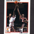 1991-92 Hoops Basketball #386 Keith Askins RC - Miami Heat
