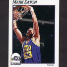 1991-92 Hoops Basketball #207 Mark Eaton - Utah Jazz
