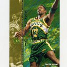 1995-96 Fleer Basketball #176 Kendall Gill - Seattle Supersonics