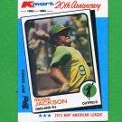 1982 K-Mart Baseball #23 Reggie Jackson - Oakland A's