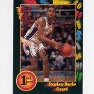 1991-92 Wildcard Basketball #117 Stephen Bardo - Illinois NM-M
