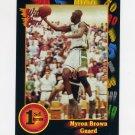 1991-92 Wildcard Basketball #104 Myron Brown - Slippery Rock NM-M