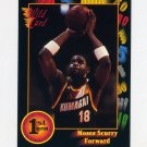 1991-92 Wildcard Basketball #055 Moses Scurry - UNLV NM-M