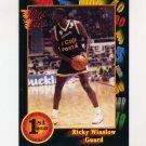 1991-92 Wildcard Basketball #050 Ricky Winslow - Houston NM-M