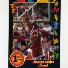 1991-92 Wildcard Basketball #025 George Ackles - UNLV NM-M