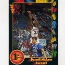 1991-92 Wild Card Basketball #116 Darrell Mickens - Houston