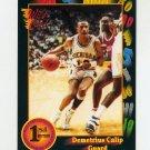 1991-92 Wild Card Basketball #103 Demetrius Calip - Michigan