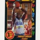 1991-92 Wild Card Basketball #082 Adrian Caldwell - Lamar