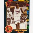 1991-92 Wild Card Basketball #067 Eddie Lee Wilkins - Gardner Webb