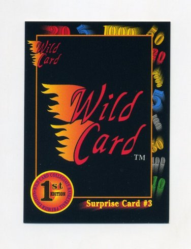1991-92 Wild Card Basketball #047A Surprise Card 3