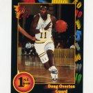 1991-92 Wild Card Basketball #033 Doug Overton - LaSalle