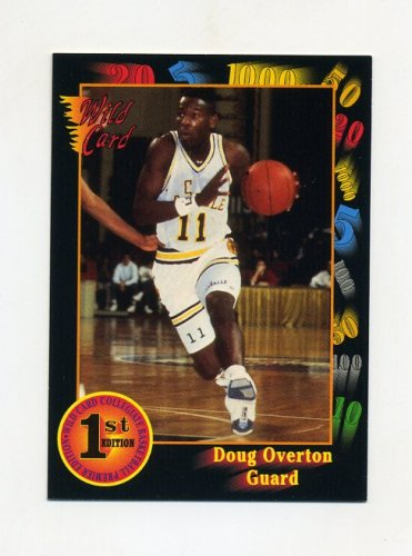 1991-92 Wild Card Basketball #033 Doug Overton - LaSalle